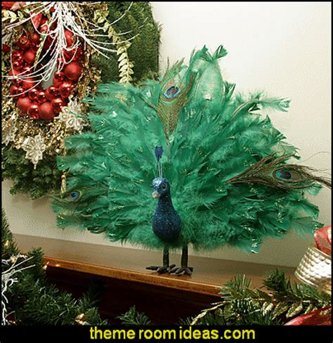 peacock decorations decorating theme bedrooms maries manor peacock color