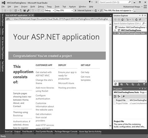 mvc tutorial asp net pdf unusual unit testing template gallery resume ideas