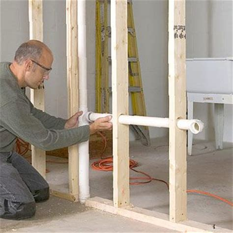 bathroom stud wall construction 73 best images about plumbing on pinterest infos