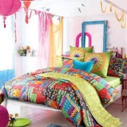 Boho Duvet Cover Sets Exotic Colorful Bedding Panda S House