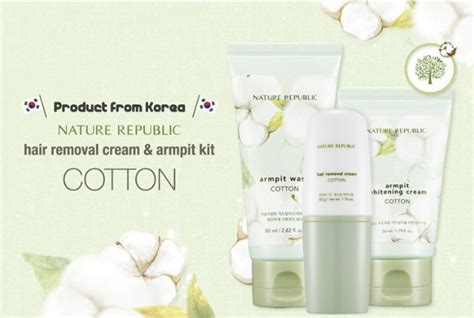 Nature Republic Cotton Armpit Kit by Premy ร ว ว Nature Republic Cotton Armpit Kit Hair