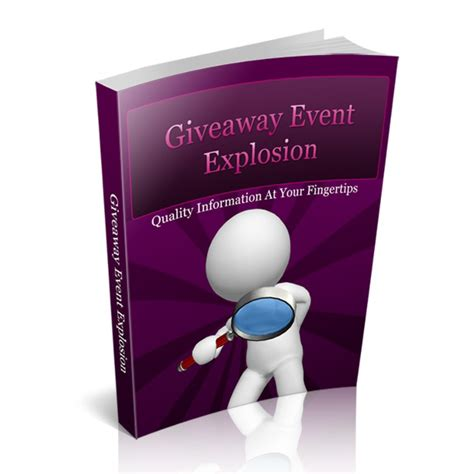 Internet Marketing Giveaway Events - giveaway event explosion