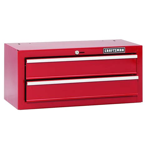 Craftsman 2 Drawer Tool Chest by Craftsman 26 Quot In Wide 2 Drawer Bearing Chest Tool Box