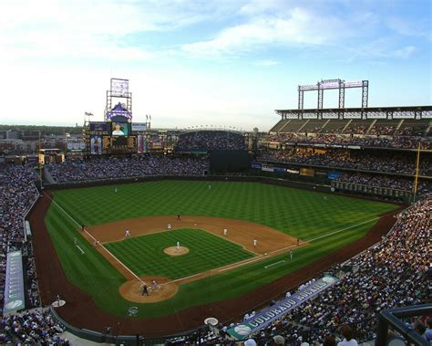 colorado rockies colors colorado rockies coors field 8x10 color photo ebay