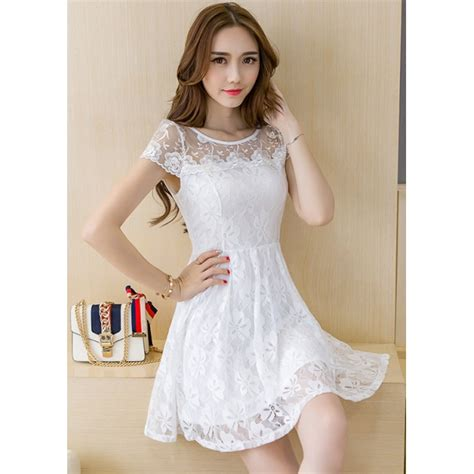 Dress Brukat Korean dress brukat korea d4183 moro fashion