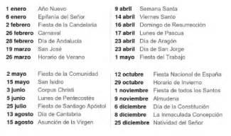 Calendario 2017 Dias Festivos Oficiales Calendario 2017 M 233 Xico 171 Excel Avanzado