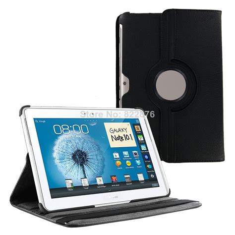 Tablet Samsung N8000 for samsung n8000 galaxy note 10 1 gt n8000 tablet n8010 360 rotation stand pu leather