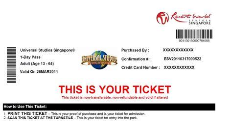 printable universal studios tickets universal studio singapore uss my travel blog