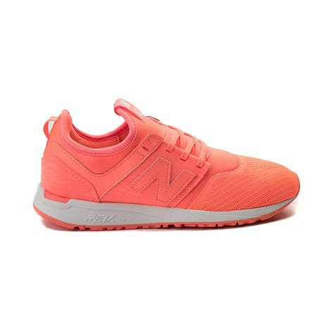 womens pink athletic shoes womens new balance 247 athletic shoe pink 401656