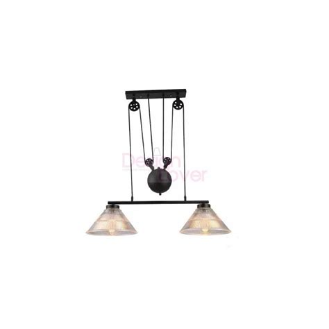 industrial pulley pendant light industrial pulley pendant l with edison bulbs by