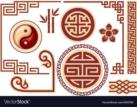 set of oriental design elements stock vector image 22896967 set of chinese oriental design elements royalty free vector