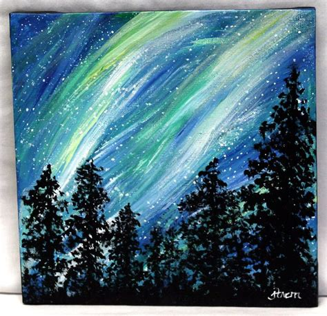 is acrylic paint on canvas 25 best ideas about easy acrylic paintings on