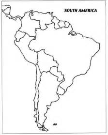 south and central america blank map image result for south american countries outline map