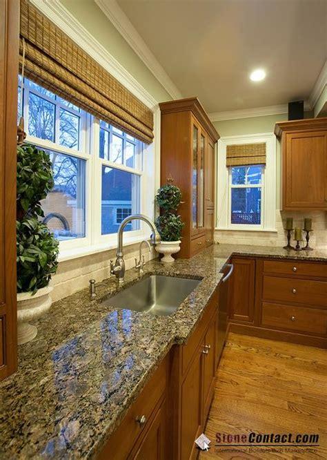 Dark Cabinet Kitchen Ideas Sweet Treat Brownie Granite Countertop