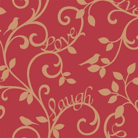 Sale Tila Cornely Motif Metalik 13 2 Lavender decor live laugh scroll wallpaper gold fd40284 wallpaper from i