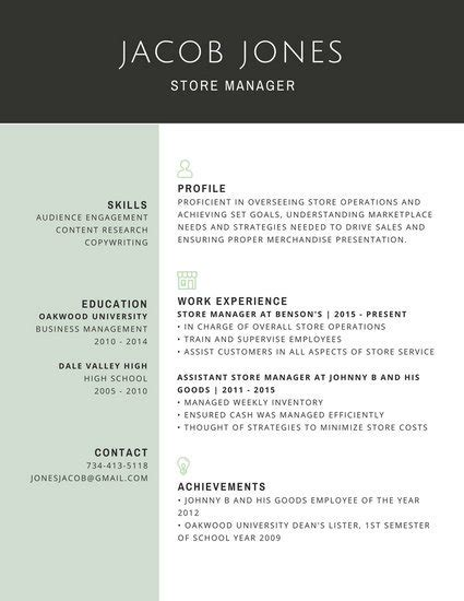 free sle of professional resume template customize 298 professional resume templates canva