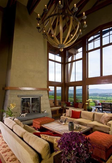 how high to hang chandelier in living room 10 high ceiling living room design ideas high ceiling