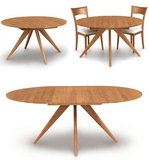 extended dining room tables round extension dining table kobe table