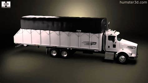 kenworth 2011 models kenworth t800 cotton truck 2011 by 3d model store