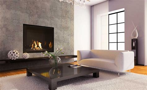 Accessories: Captivating Brown Ceramic Tile Wall Around Fireplace And Wall Mounted Black Wall