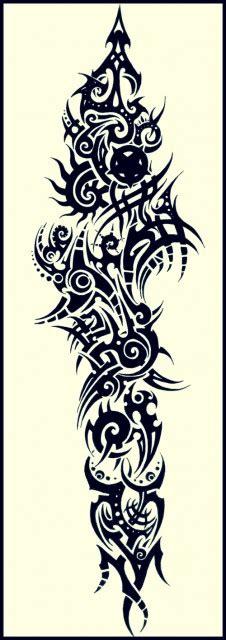 Tribal Vorlagen Unterarm by Xlastsoulx Unterarm Tribal Tattoos Bewertung De