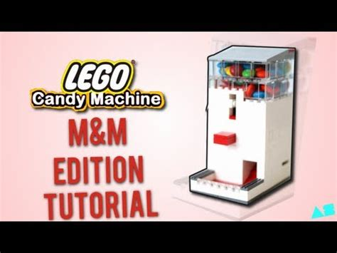 lego tutorial tv lego candy machine m m edition instructions tutorial