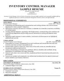 Inventory Administrator Sle Resume by Inventory Management Specialist Resume Sales Inventory Management Specialist Lewesmr