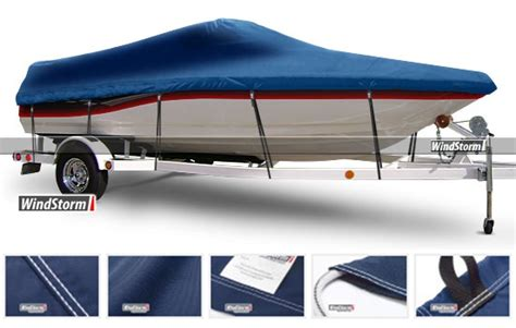 boat windshield protector windstorm cover for fish ski style boats walk thru