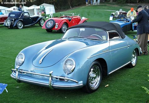 porsche california speedster auction results and data for 1957 porsche 356 mecum