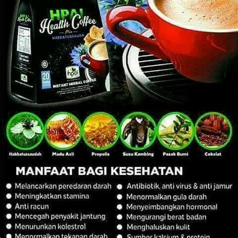 Hpai Coffee health coffee hpai merupakan kopi herbal kesehatan dan stamina