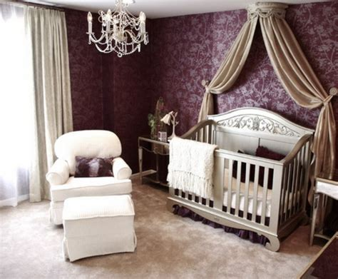 kronleuchter babyzimmer baldachin bett im babyzimmer 27 geniale ideen