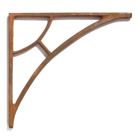 simple arch cast iron shelf bracket kitchen