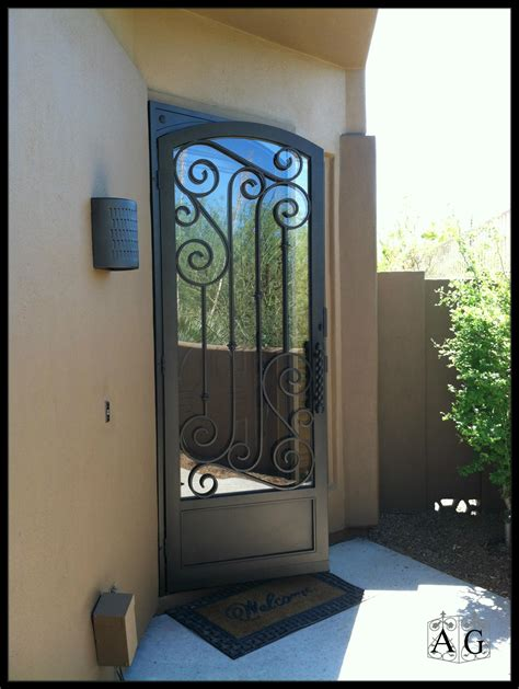doors for home four things to know about buying a home security door allied gate co