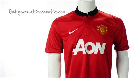 desain jersey manchester united nike 2013 2014 manchester united home jersey youtube