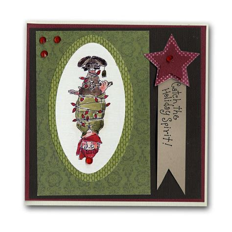 upside down card upside down christmas elf card holiday card decor