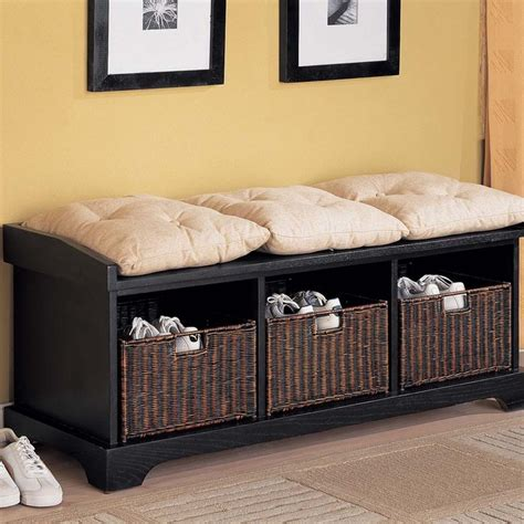 bench with storage 30 eye catching entryway benches for your home digsdigs