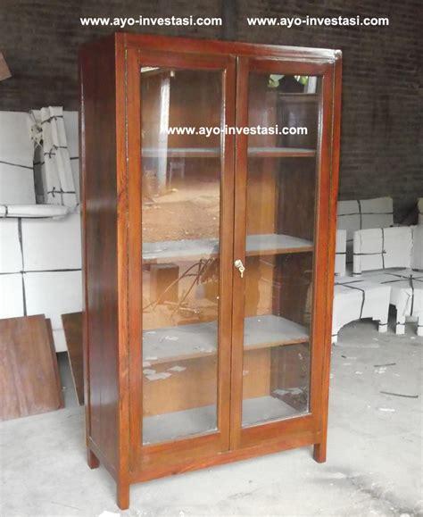 Lemari Kaca Mini almari sekolah carolina furniture