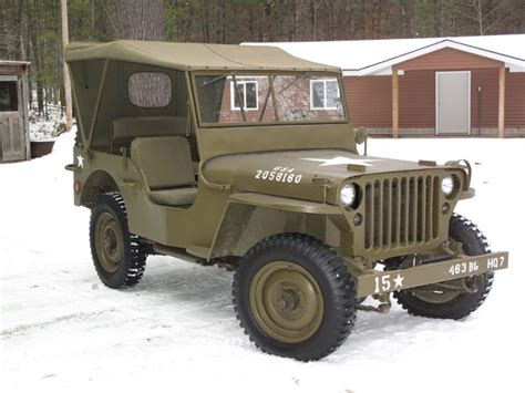 Jeep Willys 45 willys jeep mb totally car news