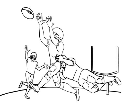 free coloring pages of nfl