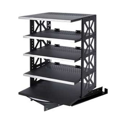 Pull Out Rack by Raxxess Rotating Pull Out Steel Rack System Black St Rotr
