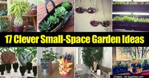 Gardens In Small Spaces Ideas 17 Clever Small Space Garden Ideas