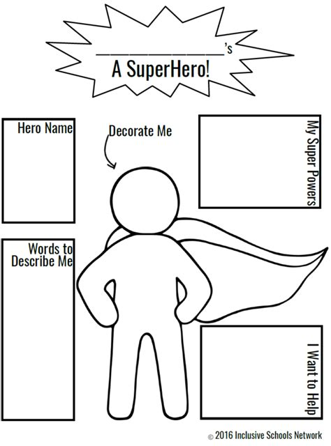 create your own superhero page coloring pages