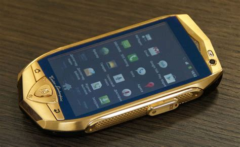 slowest lamborghini gold plated cell phone archives 187 autoguide com news