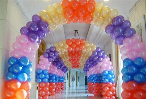 Balloon Decorations by Balloon Decoration Ideas For Birthday Favors Ideas