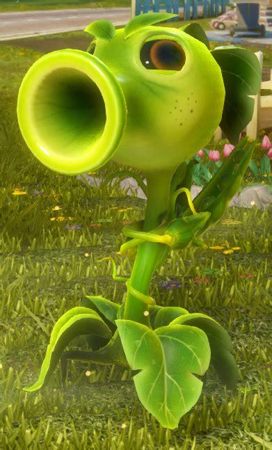 Peashooter Plants Vs Zombies Garden Warfare Plants Shooting Coloring Page