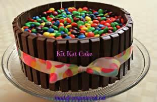 kitkat kuchen kit m m cake