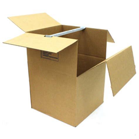 wardrobe moving boxes home depot shop large cardboard wardrobe moving box actual 24 812