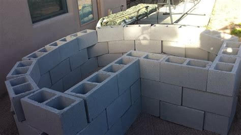 bed blocks how to make concrete blocks secure in raised bed garden gardening landscaping