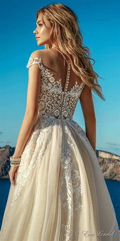 Heva Dress lendel 2017 wedding dresses santorini bridal
