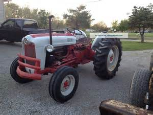 Ford Farm Tractors 1958 Ford 601 Farm Tractor W Pto And 3 Point